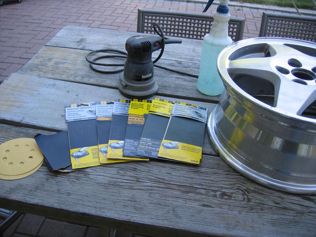 How To Polish Aluminum Wheels >> Vwvortex Com How To Polish Aluminum Rims Speedline Content