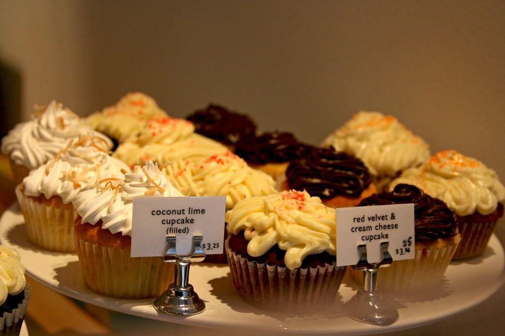 Plate o' cupcakes!