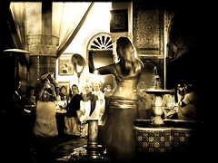 Dance with me (*atrium09) Tags: travel music topf25 sepia women olympus dancer morocco fez marocco arabian marruecos fes 10faves 25faves atrium09 diamondclassphotographer rubenseabra fiveflickrfavs thegardenofzen