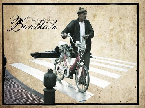 El hombre de la bicicletilla