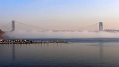 George Washington Bridge (early morning fog) (jag9889) Tags: bridge newyork puente newjersey google crossing suspension bridges ponte pont hudsonriver brcke gw gwb waterway georgewashingtonbridge 2007 othmar othmarammann ammann panynj portauthorityofnewyorkandnewjersey y2007 k007 jag9889