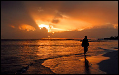 Dream-like (Michelle Brea) Tags: sunset man art colors beautiful walking photography interesting moments dominican photographer artistic dominicanrepublic dr dream dominicana fotografia capture feelings artista santodomingo juandolio michellebrea