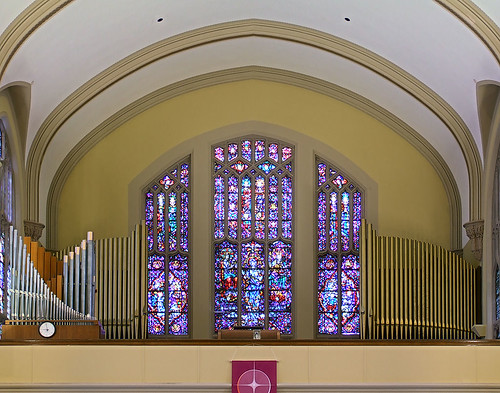 Saint Elizabeth, Mother of John the Baptist Roman Catholic Church in Saint Louis, Missouri, USA - pipe organ 2