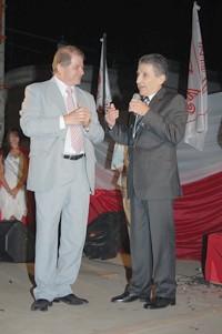 Miguel Borsatto jnuto con Armando Giuggia