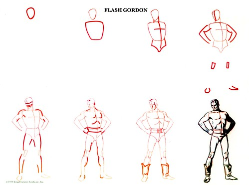 How to Draw Flash Gordon!