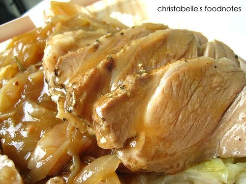 法琪歐義式餐盒  北義富烏利香烤嫩豬排飯仔細看