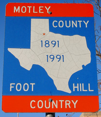 Motley County Sign (Matador, Texas) (courthouselover) Tags: texas motleycounty matador countysigns ushighway70 texaspanhandleplains westtexas tx shapeoftexas northamerica unitedstates us