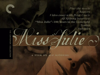 Why is August Strindberg's play Miss Julie considered naturalistic?