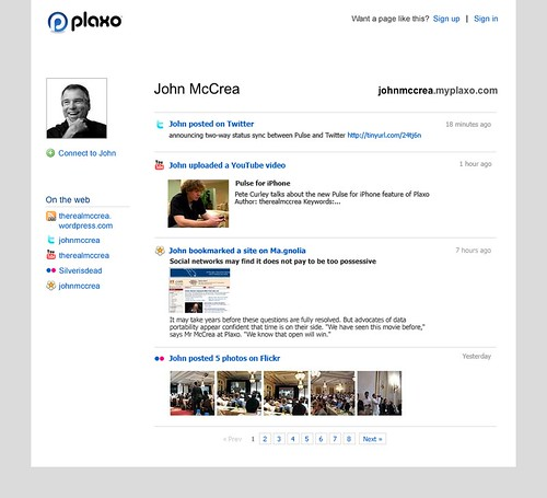 Plaxo Public Profiles Final