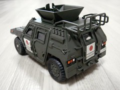 CAUL/ LIGHT ARMORED VEHICLE (5thLuna) Tags: toy rc caul takaratomy