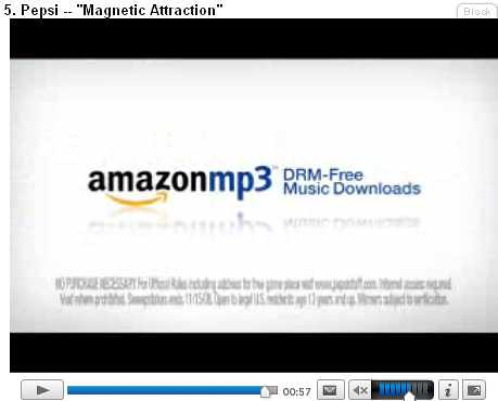 amazon mp3 store ad