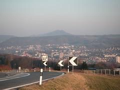 Blick von den Vierlinden (Bözberg), Richtung Baden / Lägern