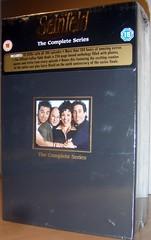 DVD samling med Seinfeld