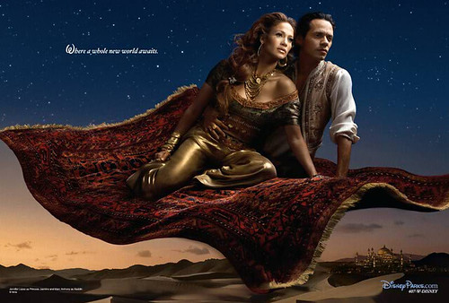 Annie Leibovitz's Disney Dream Portrait Series - Alladin