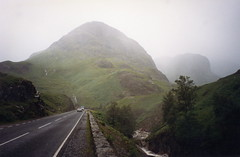 Fog, mountain road, Scottish Highlands, near Glencoe (lreed76) Tags: fog scottishhighlands mountainroad