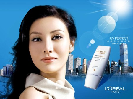 Michelle Reis for L'oreal Paris