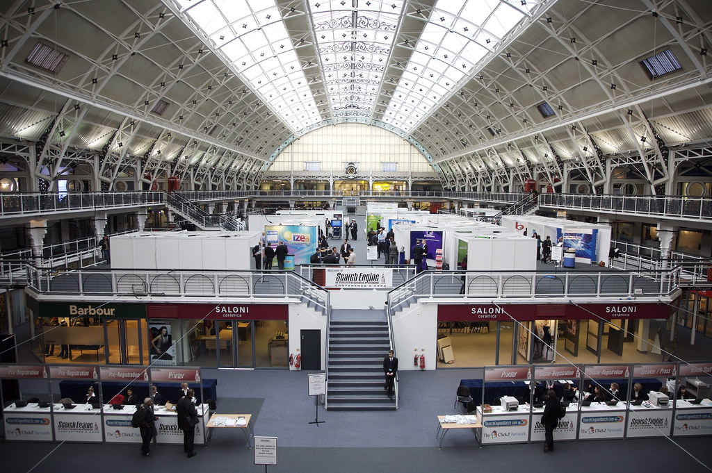 SES London 2008 - View of the exposition floor