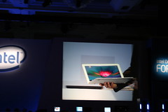 MacBook Air at Intel Developer Forum