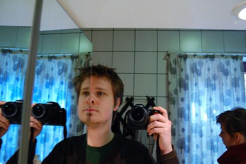 Pret met spiegels