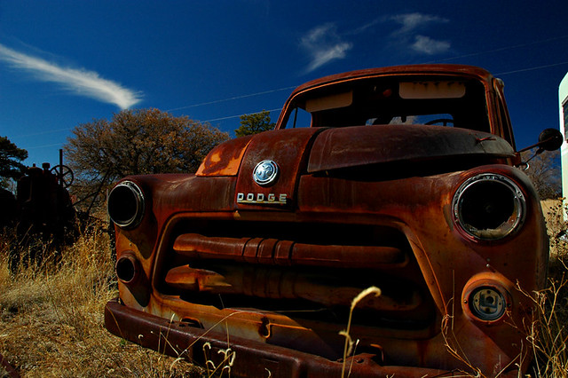 newmexico abandoned truck rust decay pickup dodge pietown jwoodphoto