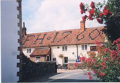 Blakeney16 (muuranker) Tags: uk roof brick iron letters norfolk fh pantile blakeney goldenglobe 1760 pritzkered