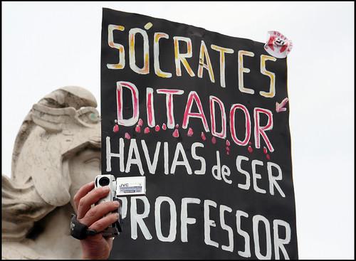Manifestação de professores  - Lisboa (by Loca....)