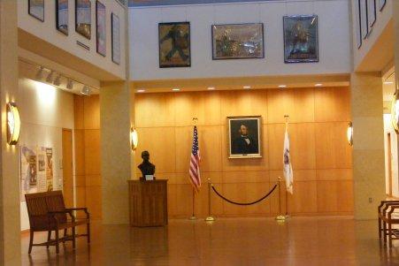 Lincoln Library-Interior