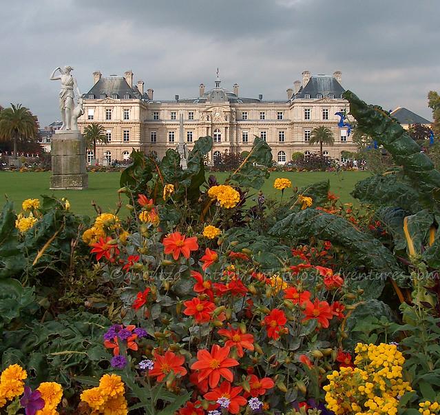 foto jardin du luxembourg parigi francia
