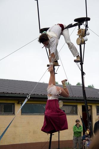 Circus op straat