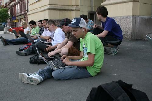 Flash Mob de Ziua Internetului - Oradea