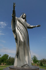 Queen of Peace (anglerove) Tags: sculpture statue giant big large wideangle iowa huge roadside tamron roadsideattractions bigthings immaculateheart siouxcity immaculateheartofmary queenofpeace 1118mm 30feet trinityheights tamron1118mm tamron1118 siouxland roadsidedistractions tamronspaf1118mm
