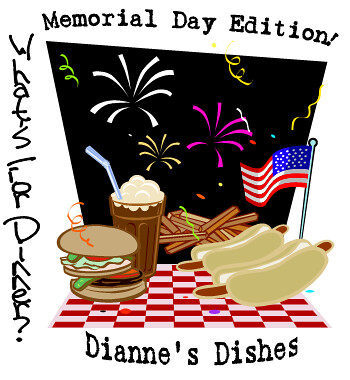 What's For Dinner Memorial Day Graphic