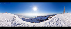 Pancicev vrh panorama (Boris Mrdja) Tags: kopaonik mountain mountaineering ski skii skiing winter peak pancicevvrh vrh planina planinarenje planinski panorama panoramic snow piramid pyramid piramida rudnik kamenolom sneg skijanje senic serbia srbija fun landscape quarry mine rock shelf stone radar