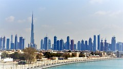 Dubai Skyline (janvandijk01) Tags: dubai united arab emirates arabie arabic