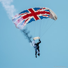 The Tigers Freefall Team (FredMac01) Tags: tigersfreefallteam tigers parachute team british freefall eastbourne 2016 airshow jump thetigers thetigersfft unionjack
