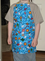 Ethan's pottery apron