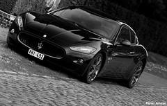 Maserati GranTurismo S (Pieter Ameye) Tags: auto sports car italian belgium s coche gran gt turismo v8 maserati granturismo canoneos400d pieterameye vhi492