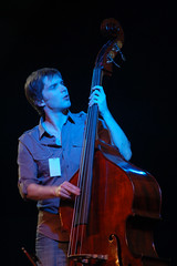 Emily Smith Band double bass player