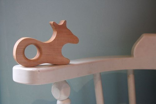 Fiona The Fawn Wood Teether