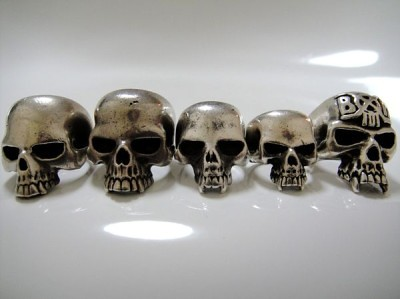 Skull Rings of BxH Hikaru