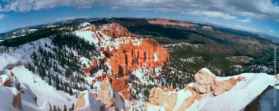 USA Bryce Canyon NP 2001 © Photo by Alexander Kondakov