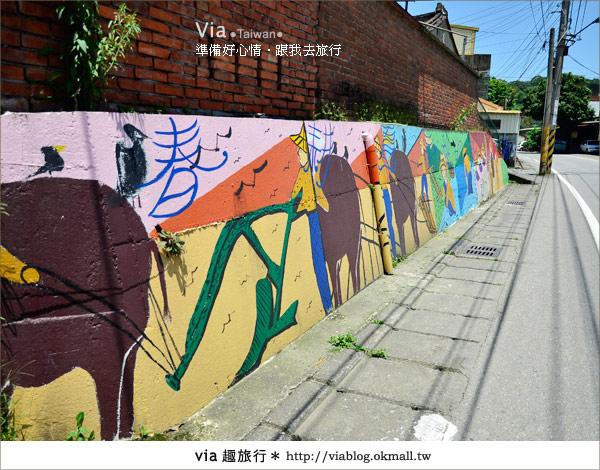 【彩繪客家村】驚豔,彩繪村!新竹竹東鎮軟橋社區尋彩趣12
