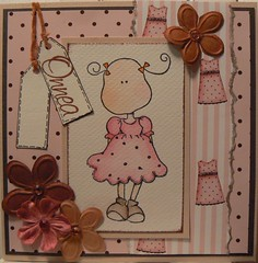 Greeting card to a girl 1