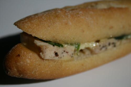 Bay Breadのサンドイッチ