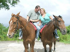 Horseback riding in Ocho Rios