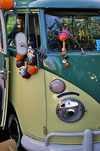 Halloween fun car