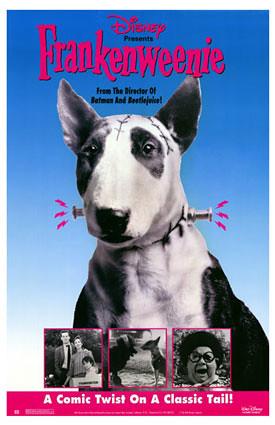 Frankenweenie poster perro