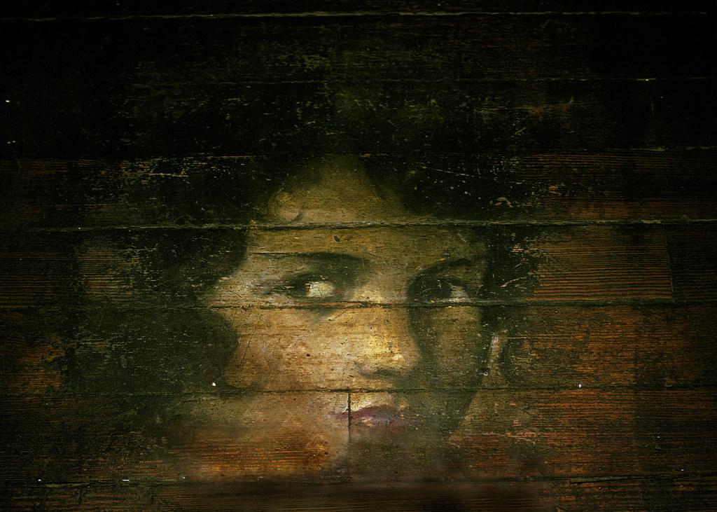 The Face on the Barroom Floor...  by Herndon Davis.