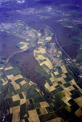 farms, germany (anachronist) Tags: europe aerial arial