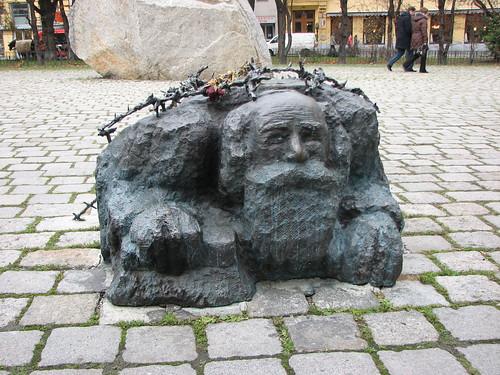 אנדרטה לזכר ההשפלה של יהודי וינה